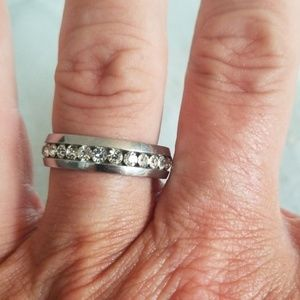Eternity band. Stainless steel
